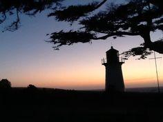 Point Montara lighthouse sunset