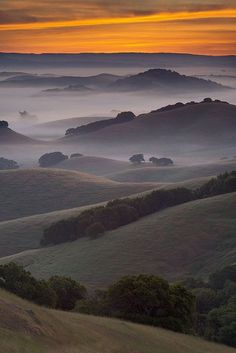 Endless Layers, Northern Marin County, California, USA -- photo by Michael Ryan _ Day Tripping with Rick SFO north #sfo #dan330 http://livedan330.com/2015/04/24/day-tripping-with-rick-san-francisco-going-north/