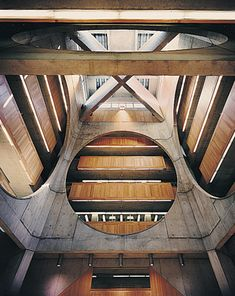 Phillips Exeter Academy Library in Exeter, New Hampshire; designed by Louis I. Kahn