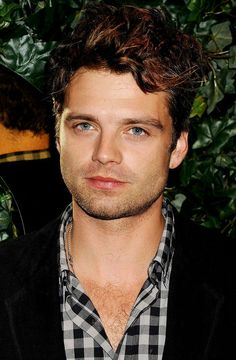 Sebastian Stan at the QVC Red Carpet Style Party 2011