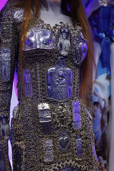 Highly detailed Tyroshi armor which is prized all through westeros and essos // gaultier