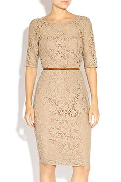 Vintage inspired Lara Lace Dress creates a beautiful silhouette and perfect for the mother of the bride