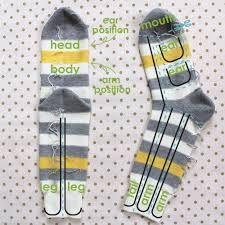 Resultado de imagem para patterns for sock animals