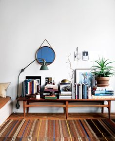 Elle Interiör I am obsessed with vignettes. I could spend my days making vignettes all over my...
