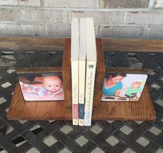 Book Ends for Baby gifts and much more by BlocksFromTheHeart
