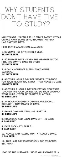 The math nerd in me wants to correct all the mistakes.  They've over-counted all the hours. (i.e. 8 hours of sleep also happen on Sundays) However, funny nevertheless