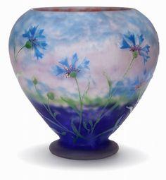 Vase, Daum studio, Nancy, France