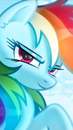 Rainbow Dash.