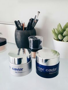 Aldi Lacura Caviar Illumination Creams      Just before Christmas, I sent a message to my friend Michelle to get herself to an Aldi first thing in the morning to bag a Lacura Caviar face cream pack. W
