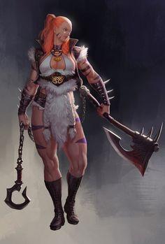 Quick D&D Female Character Ideas