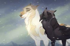 Orphael under the mistletoe by Tazihound on DeviantArt Anime Wolf, Anime Animals, Cute Animals, Wolf Comics, Cartoon Wolf, Wolf Artwork, Fantasy Wolf, Wolf Spirit Animal, Wolf Wallpaper
