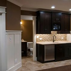 kitchenette in master bedroom design ideas, pictures, remodel, and