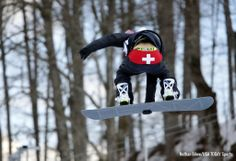 Jan Scherrer- Swiss snowboarder flashes fans with the most patriotic moon of the Olympics | For The Win