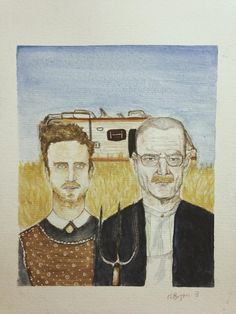 """Some were twists on classic paintings. 