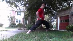 Alexander Borschel - Demonstrating the five ways to do a front stance. Martial Arts, Combat Sport, Martial Art