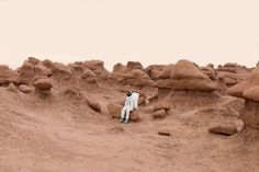 Julien Mauve Sends Greetings From Mars With Tourist-style Photos | iGNANT.de