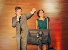 I'll do karaoke with Patrick and Elisa!