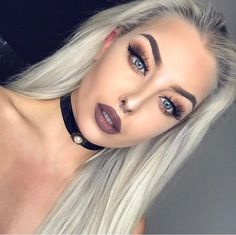Discovered by Find images and videos about pretty, beauty and make up on We Heart It - the app to get lost in what you love. Sexy Eye Makeup, Full Makeup, Gorgeous Makeup, Makeup Geek, Makeup Inspo, Makeup Inspiration, Makeup Tips, Beauty Makeup, Hair Makeup