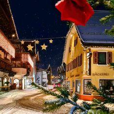 St. Johann in Tirol weihnachtlich – Bild des Monats im Dezember 2020 Street View, Blog, Gadgets, Xmas Lights, December, Christmas, Creative, Pictures, Blogging