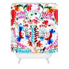 Deb Haugen Mexican Surf Trip Shower Curtain | DENY Designs Home Accessories