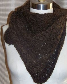 Bandit triangle scarf on Etsy, $100.00