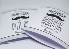 Bräutigam - Socken-Banderole Hochzeit für Bräutigam/Trauzeuge - ein Designerstück von Lieblingsprint bei DaWanda