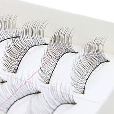 c9f844ec670 10Pairs Makeup Handmade Natural Fashion Long False Eyelashes Eye Lashes  Sparse Natural Fashion, Thick Lashes