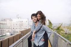 Maia Mitchell and David Lambert #TheFosters