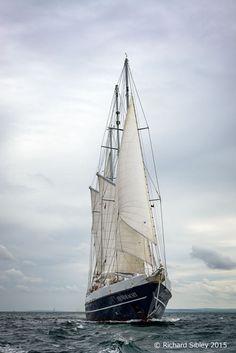 Dutch 3 masted schooner Eendracht – Belfast Tall Ships 2015