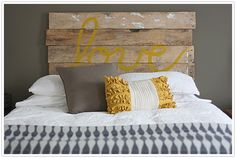 Headboards for the rustic bedrooms