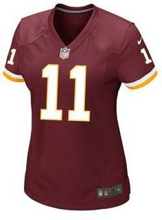 Express ultimate fan loyalty today and support your team with this #Redskins Ladies Nike Game Home DeSean Jackson Jersey.