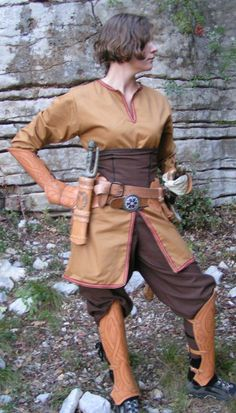 Lady Viking Clothes 2 by ~Bear-Crafter on deviantART
