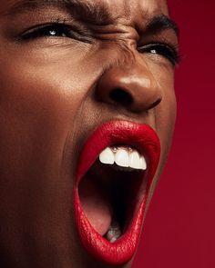 Shop FENTY BEAUTY by Rihanna's Stunna Lip Paint Longwear Fluid Lip Color at Sephora. A weightless, long-wearing, liquid lipstick with a soft-matte finish. Hot Pink Lipsticks, Pink Lip Gloss, Makeup Trends, Makeup Ideas, Beauty Photography, Liquid Lipstick, Dark Skin, Lip Colors, Rihanna