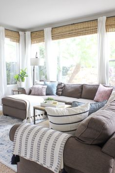 How To Lighten Up A Dark Couch. Dark Couch, Decor Crafts, Home ...