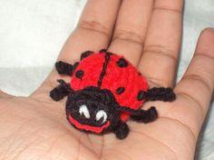 tiny lady bug - via @Craftsy