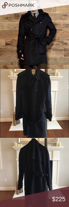 Todd Snyder Wool Trenchcoat Large This Todd Snyder trenchcoat is amazing! 100% Wool it is extremely comfortable. Double breasted in a stylish way, this coat looks and feels like it's never been worn. Retails for $900 Todd Snyder Jackets & Coats Trench Coats