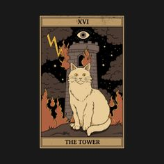 Tarot Card Decks, Tarot Cards, Magic Cat, Frog Art, Iphone Wallpaper Tumblr Aesthetic, Hippie Art, Room Posters, Illustrations, Photo Wall Collage