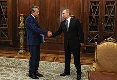 Встреча спредседателем Внешэкономбанка Сергеем Горьковым