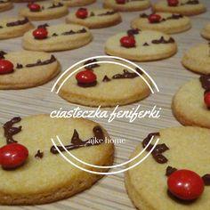 ciastka kruche renifery przepis Cookies, Baking, Desserts, Food, Crack Crackers, Tailgate Desserts, Deserts, Biscuits, Bakken