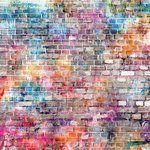 Ella and Viv Paper Company - Graffiti Collection - 12 x 12 Paper - The Wall