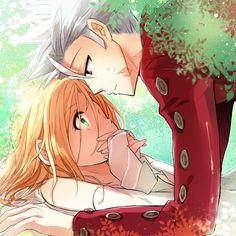 Ban x Eliane * Anime Couple *
