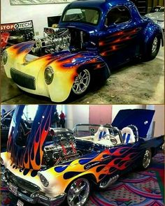 Old School Cars, Street Rods, Car Humor, Kustom, Hot Cars, Car Pictures, Custom Cars, Old And New, Cars And Motorcycles