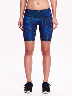 Go-Dry Printed Compression Bermuda Short for Women | Old Navy