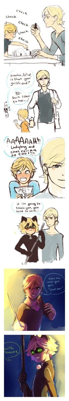 An AU where Felix is Adrien's older brother! (Miraculous Ladybug) <<< Felix, Adrien has no chill