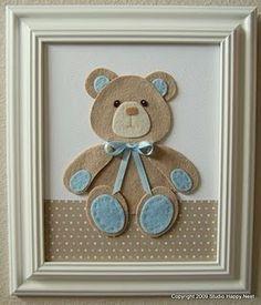 Good idea for a baby boy's room. :p