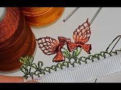 Турецкое игольное кружево ойяси (Oyasi). Урок № 15: бабочка. Мастер-класс Опубликовано на сайте: http://rukotvornica.ru/ Автор мастер-класса: https://www.you...