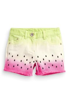 Buy Watermelon Dip Dye Shorts (3-16yrs) from the Next UK online shop