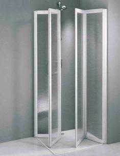 folding shower screen for corner shower by eddie