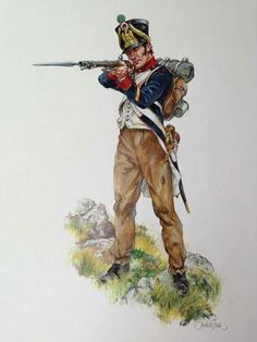 Light infantry voltigeur Spain 1811