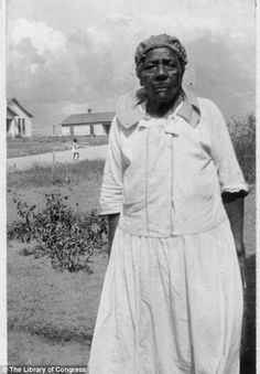 This woman is one of the last faces of slavery. In the 1920s and 1930s, an interest in slave narratives was rekindled, and as part of the Federal Writers' Project of the Work Progress Administration, more than 2,000 first-person accounts of slavery were collected, as well as 500 black and white photographs. Most were in their 80s and 90s.  Imagine what she has endured, what she has seen. #muchrespecttomyancestors
